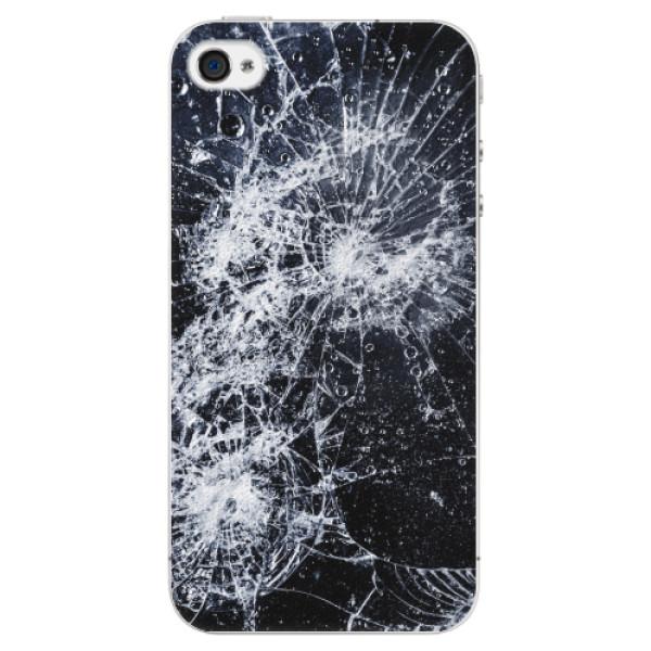 Plastové pouzdro iSaprio - Cracked - iPhone 4/4S