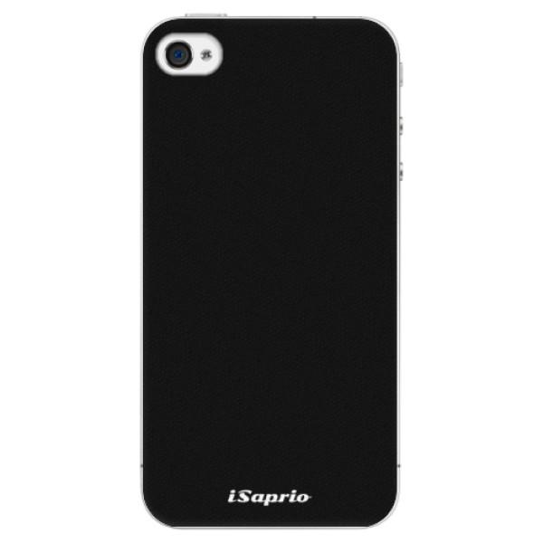Plastové pouzdro iSaprio - 4Pure - černý - iPhone 4/4S