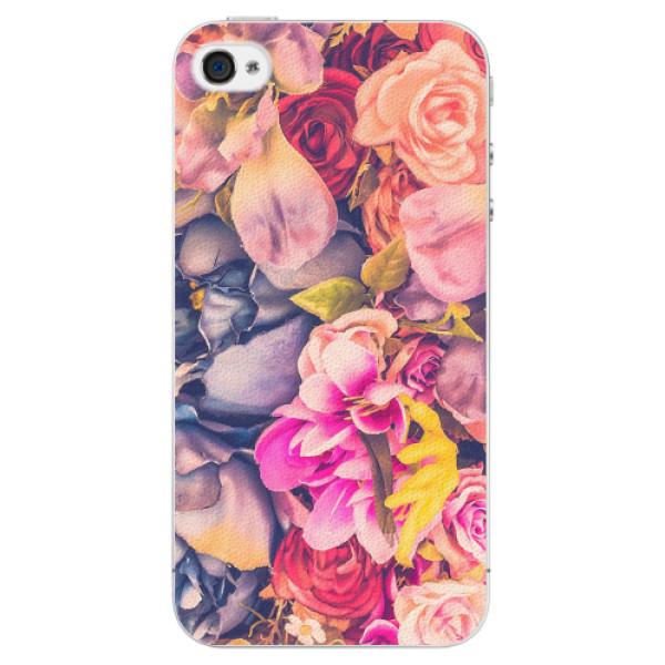 Plastové pouzdro iSaprio - Beauty Flowers - iPhone 4/4S