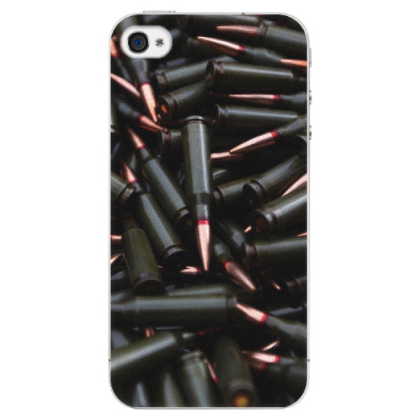 Plastové pouzdro iSaprio - Black Bullet - iPhone 4/4S