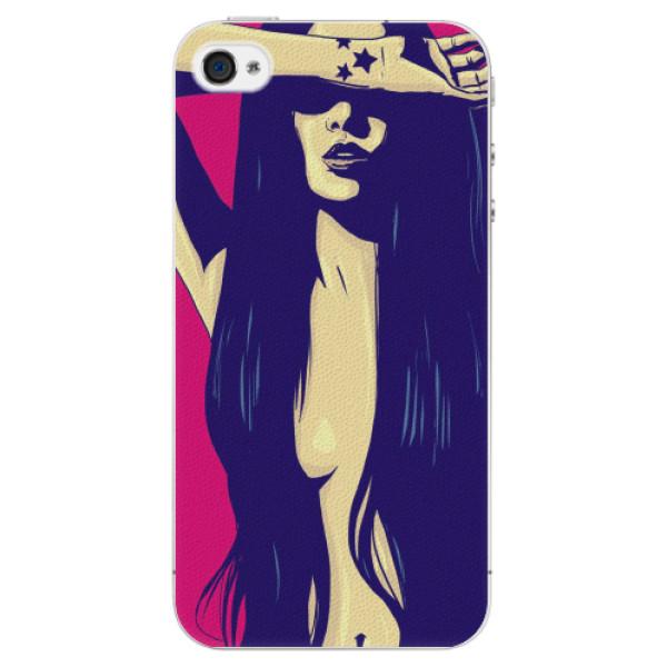 Plastové pouzdro iSaprio - Cartoon Girl - iPhone 4/4S