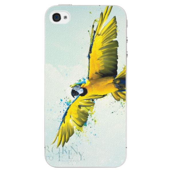 Plastové pouzdro iSaprio - Born to Fly - iPhone 4/4S
