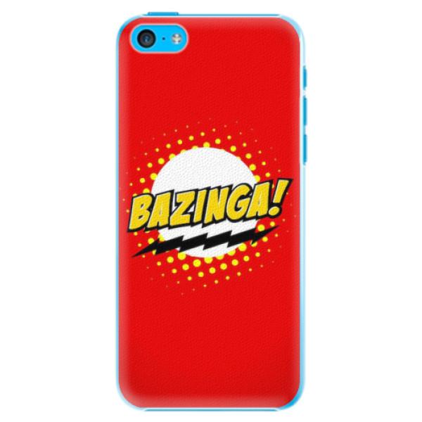 Plastové pouzdro iSaprio - Bazinga 01 - iPhone 5C