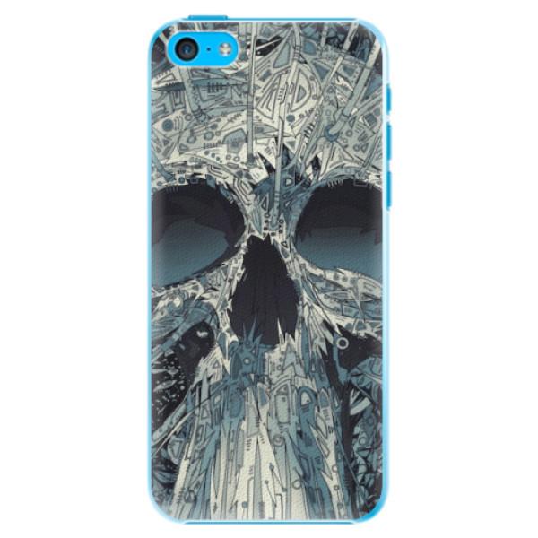 Plastové pouzdro iSaprio - Abstract Skull - iPhone 5C