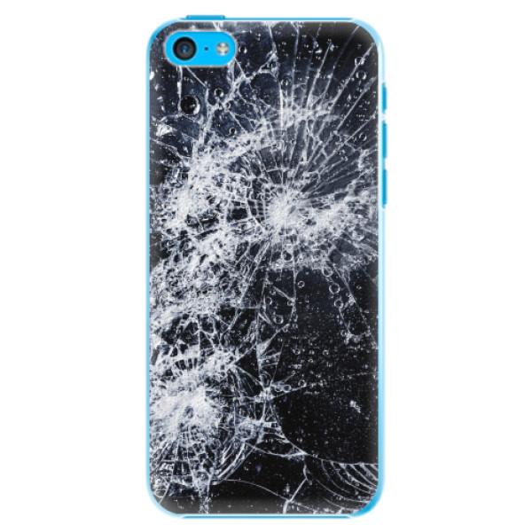 Plastové pouzdro iSaprio - Cracked - iPhone 5C