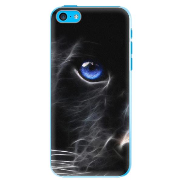 Plastové pouzdro iSaprio - Black Puma - iPhone 5C