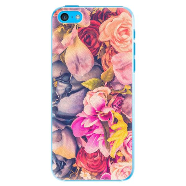 Plastové pouzdro iSaprio - Beauty Flowers - iPhone 5C