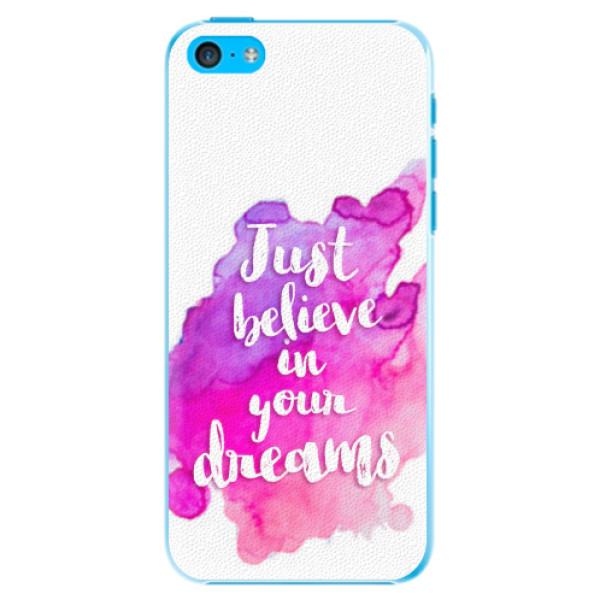 Plastové pouzdro iSaprio - Believe - iPhone 5C
