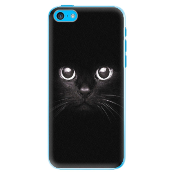 Plastové pouzdro iSaprio - Black Cat - iPhone 5C