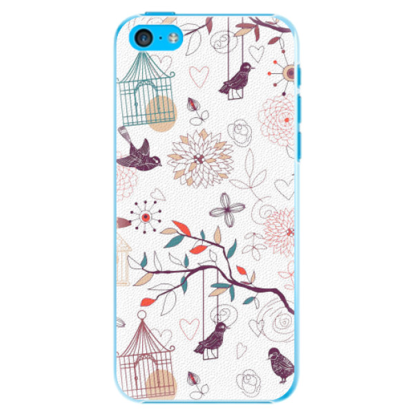Plastové pouzdro iSaprio - Birds - iPhone 5C