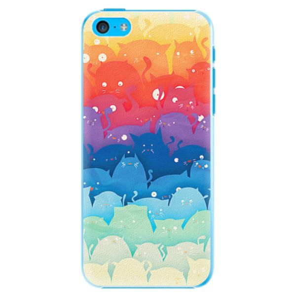 Plastové pouzdro iSaprio - Cats World - iPhone 5C