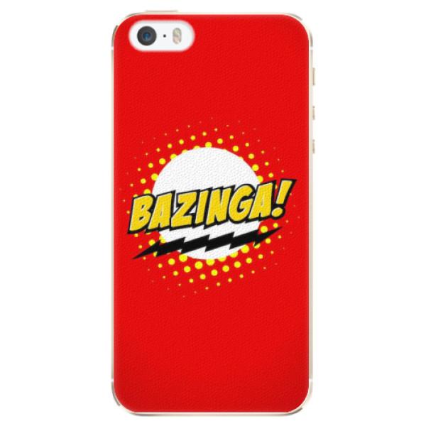 Plastové pouzdro iSaprio - Bazinga 01 - iPhone 5/5S/SE