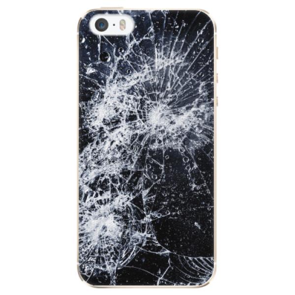 Plastové pouzdro iSaprio - Cracked - iPhone 5/5S/SE