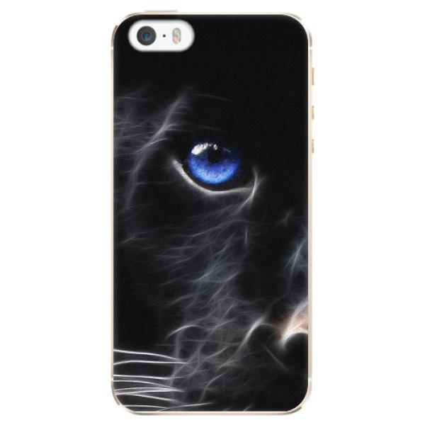 Plastové pouzdro iSaprio - Black Puma - iPhone 5/5S/SE