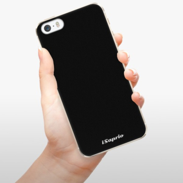 Plastové pouzdro iSaprio - 4Pure - černý - iPhone 5/5S/SE