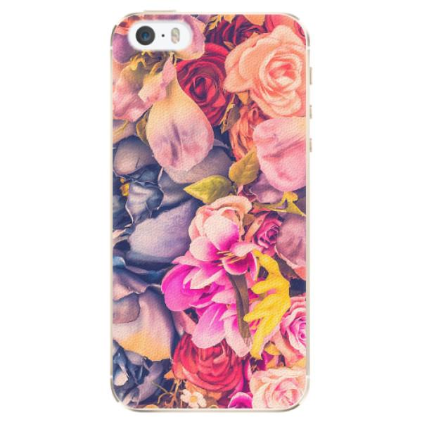 Plastové pouzdro iSaprio - Beauty Flowers - iPhone 5/5S/SE