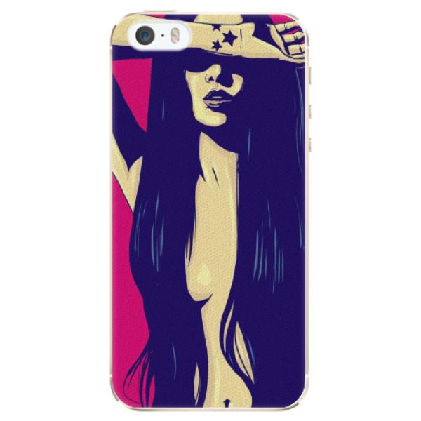 Plastové pouzdro iSaprio - Cartoon Girl - iPhone 5/5S/SE