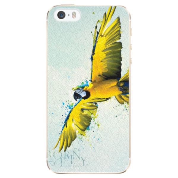 Plastové pouzdro iSaprio - Born to Fly - iPhone 5/5S/SE