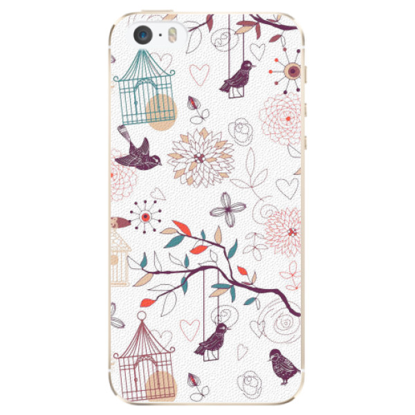 Plastové pouzdro iSaprio - Birds - iPhone 5/5S/SE
