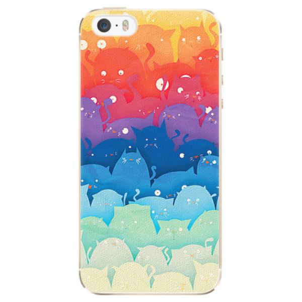 Plastové pouzdro iSaprio - Cats World - iPhone 5/5S/SE