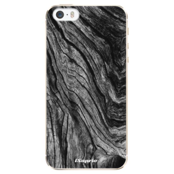 Plastové pouzdro iSaprio - Burned Wood - iPhone 5/5S/SE