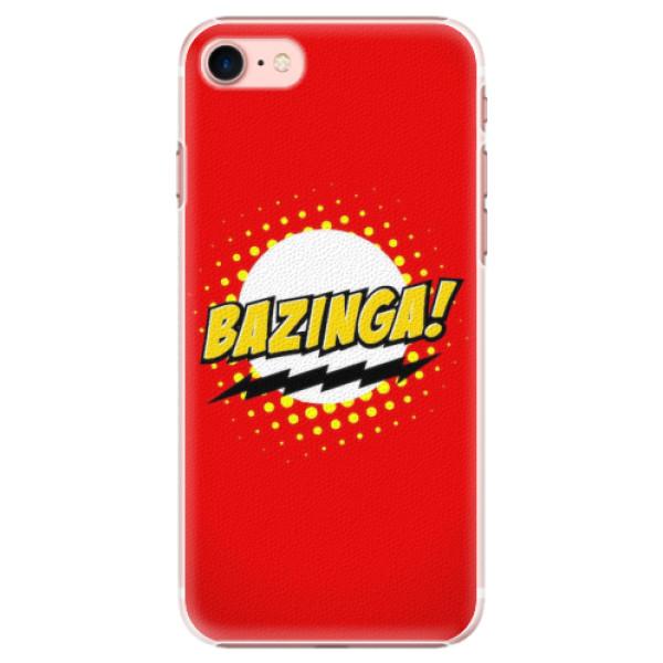 Plastové pouzdro iSaprio - Bazinga 01 - iPhone 7