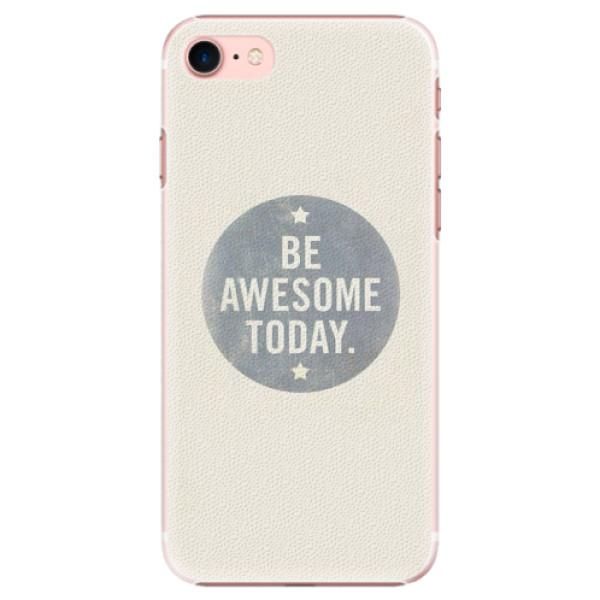Plastové pouzdro iSaprio - Awesome 02 - iPhone 7