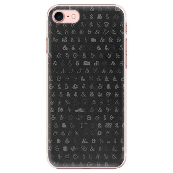 Plastové pouzdro iSaprio - Ampersand 01 - iPhone 7