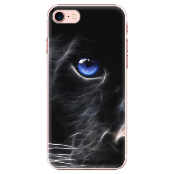 Plastové pouzdro iSaprio - Black Puma - iPhone 7