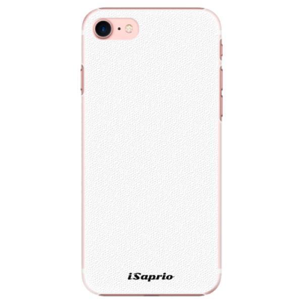 Plastové pouzdro iSaprio - 4Pure - bílý - iPhone 7