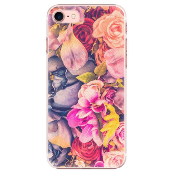 Plastové pouzdro iSaprio - Beauty Flowers - iPhone 7