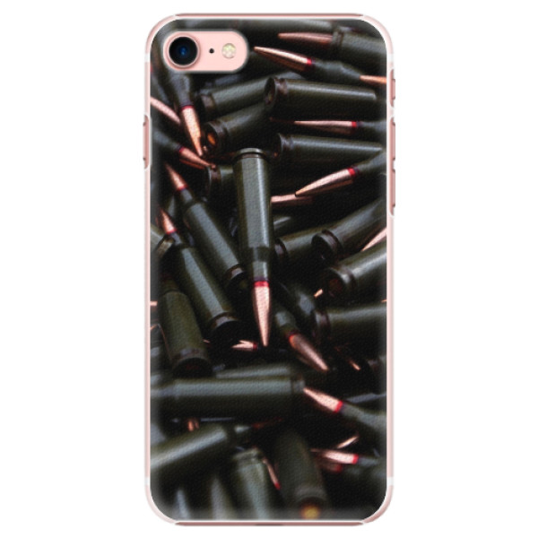 Plastové pouzdro iSaprio - Black Bullet - iPhone 7