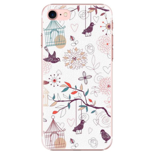Plastové pouzdro iSaprio - Birds - iPhone 7