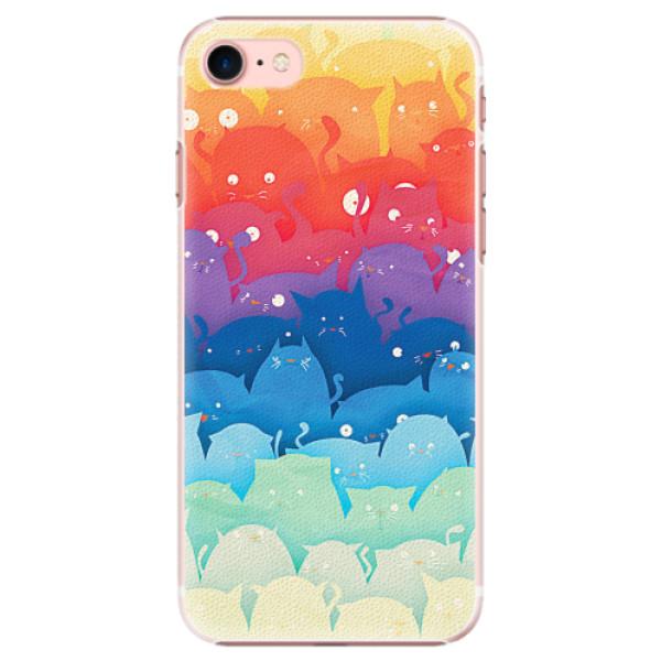 Plastové pouzdro iSaprio - Cats World - iPhone 7