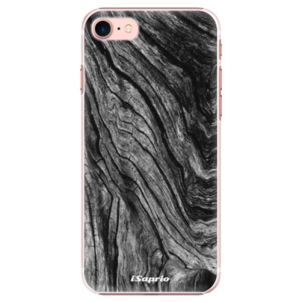 Plastové pouzdro iSaprio - Burned Wood - iPhone 7