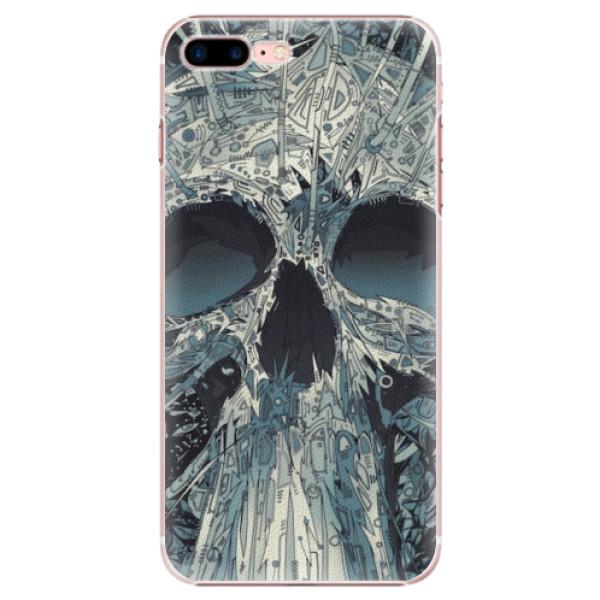 Plastové pouzdro iSaprio - Abstract Skull - iPhone 7 Plus