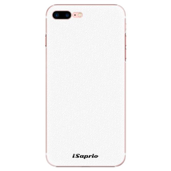 Plastové pouzdro iSaprio - 4Pure - bílý - iPhone 7 Plus