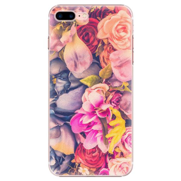 Plastové pouzdro iSaprio - Beauty Flowers - iPhone 7 Plus