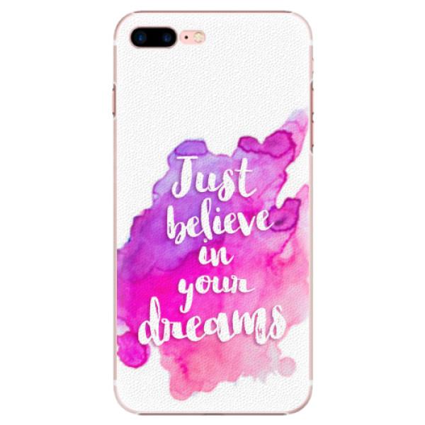 Plastové pouzdro iSaprio - Believe - iPhone 7 Plus