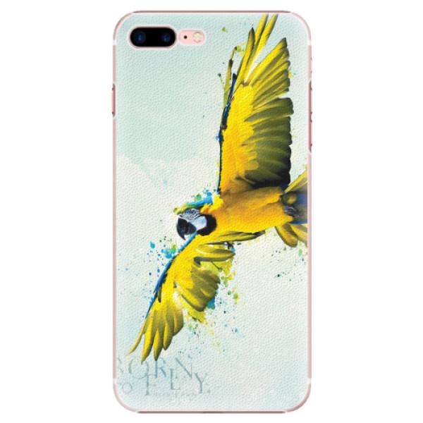 Plastové pouzdro iSaprio - Born to Fly - iPhone 7 Plus