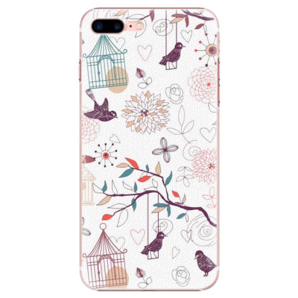 Plastové pouzdro iSaprio - Birds - iPhone 7 Plus