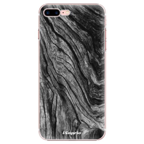 Plastové pouzdro iSaprio - Burned Wood - iPhone 7 Plus