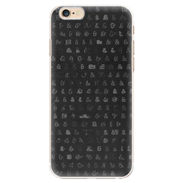 Plastové pouzdro iSaprio - Ampersand 01 - iPhone 6/6S