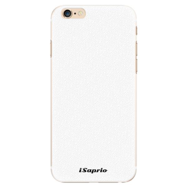 Plastové pouzdro iSaprio - 4Pure - bílý - iPhone 6/6S
