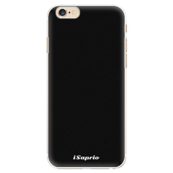 Plastové pouzdro iSaprio - 4Pure - černý - iPhone 6/6S
