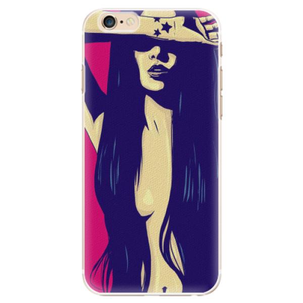 Plastové pouzdro iSaprio - Cartoon Girl - iPhone 6/6S