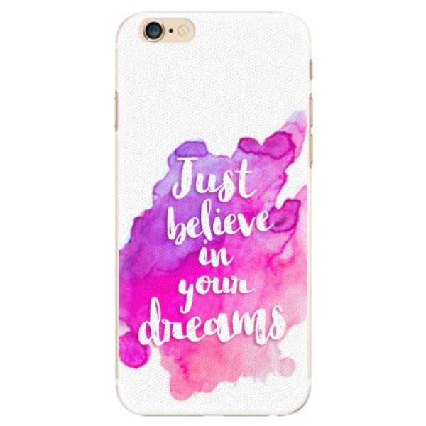 Plastové pouzdro iSaprio - Believe - iPhone 6/6S