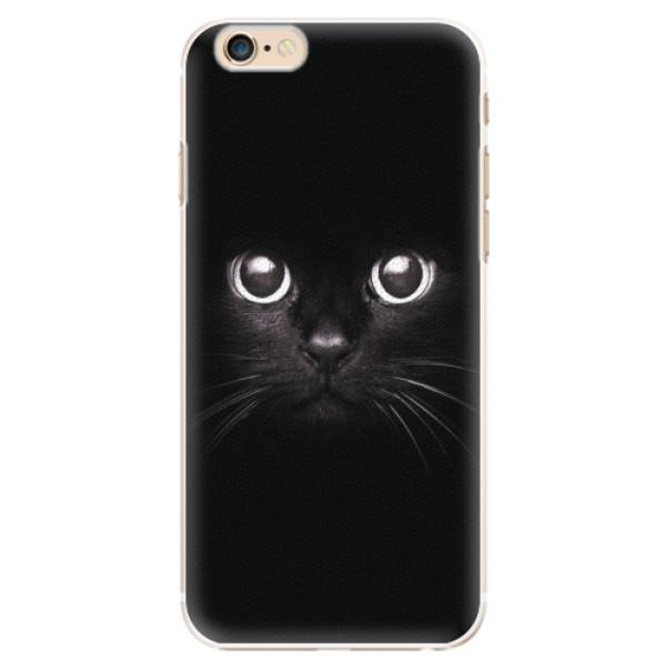 Plastové pouzdro iSaprio - Black Cat - iPhone 6/6S