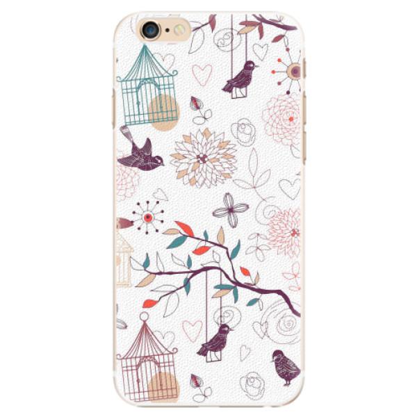 Plastové pouzdro iSaprio - Birds - iPhone 6/6S