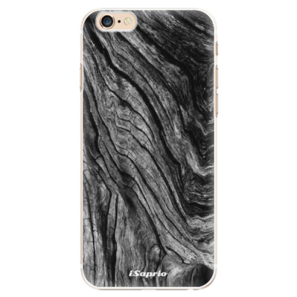 Plastové pouzdro iSaprio - Burned Wood - iPhone 6/6S